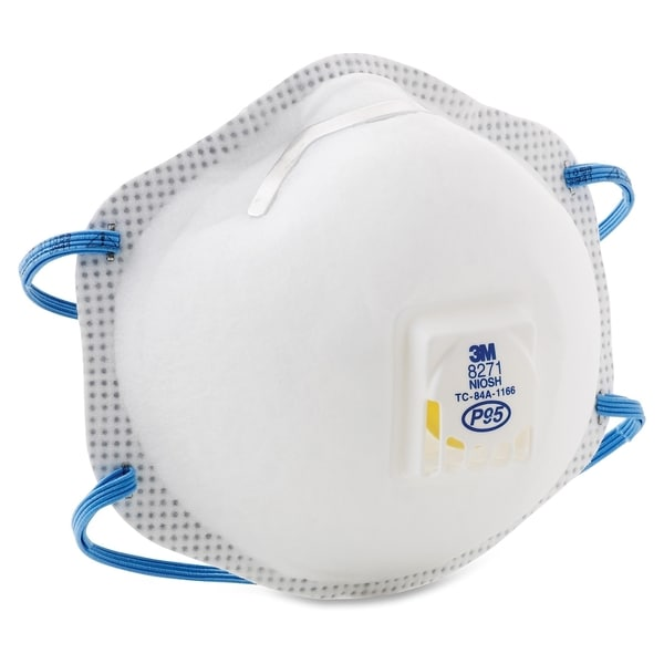 3M Disposable P95 Particulate Respirator - 10/BX 16847314