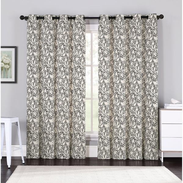 VCNY Forrester Lined Curtain Panel