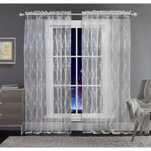 VCNY Alexa Sheer Tonal Curtain Panel