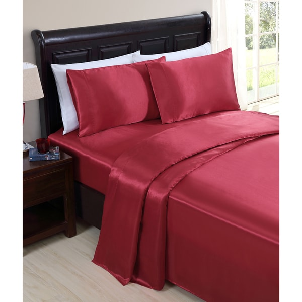 VCNY Celesta Satin Sheet Set