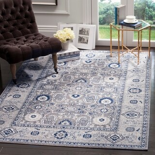 Safavieh Artisan Grey/ Silver Cotton Rug (5'1 x 7'6)