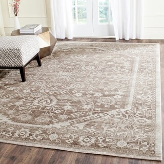Safavieh Artisan Brown/ Ivory Cotton Rug (8' x 10')