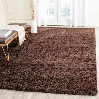 Safavieh Laguna Shag Brown Rug (8'6 x 12')
