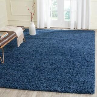 Safavieh Laguna Shag Blue Rug (8'6 x 12')