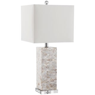 "Safavieh Lighting 26-inch Homer Shell Table Lamp - 11.5""x11.5""x26"""
