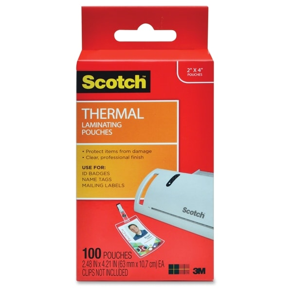 Scotch Laminating Pouches - 100/PK