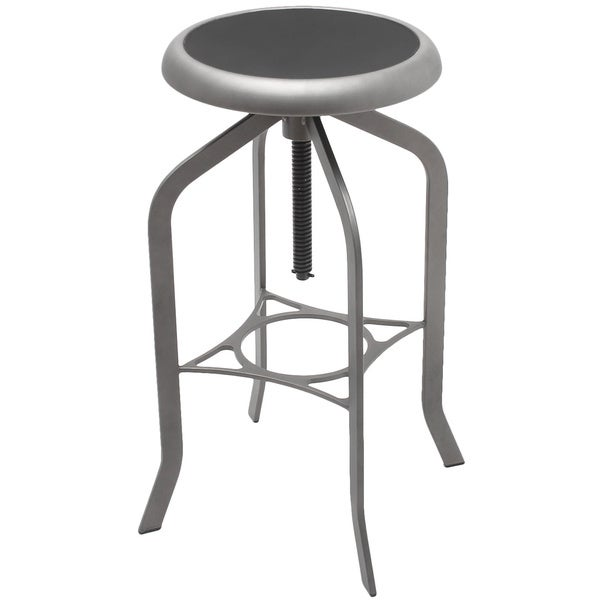 Industrial Style Swivel Bar Stools