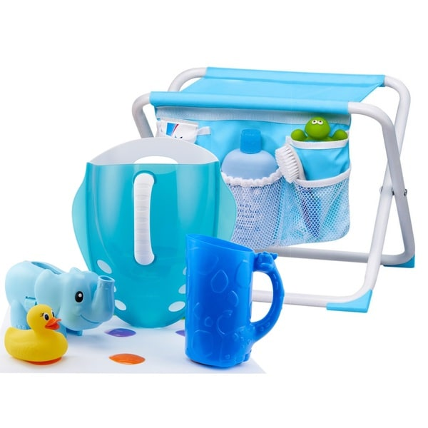 Tub Time 6 Piece Bath Safety & Organization Set