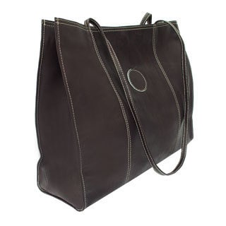 Piel Leather Carry-all Market Bag