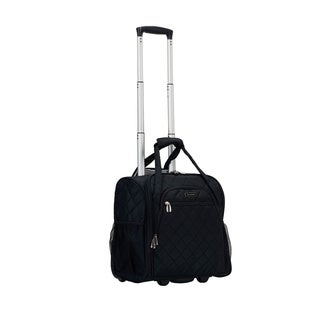 Rockland Melrose Collection Rolling Carry-on Tote