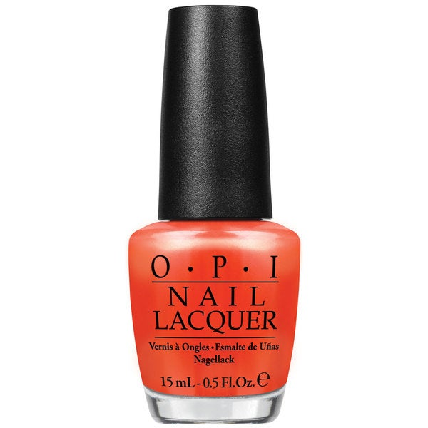 OPI Orange You Going to the Game Nail Polish