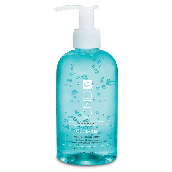 CND Cool Blue 8-ounce Hand Sanitizer