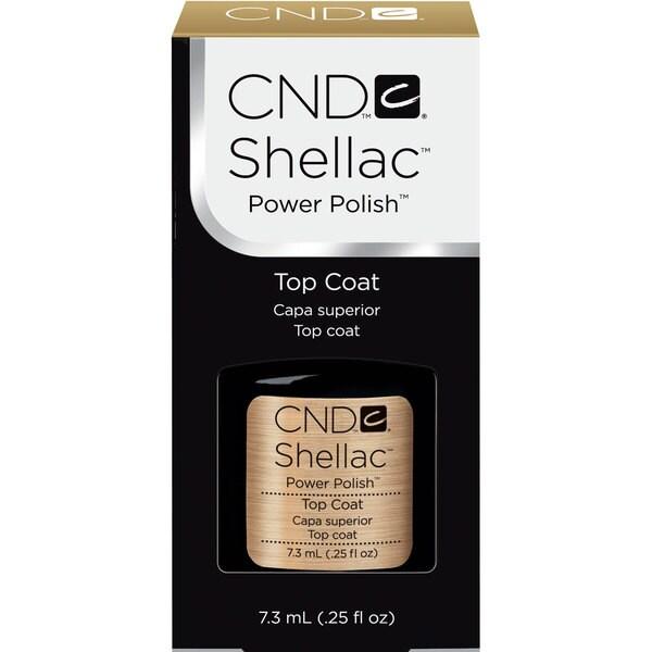 CND Shellac UV Top Coat