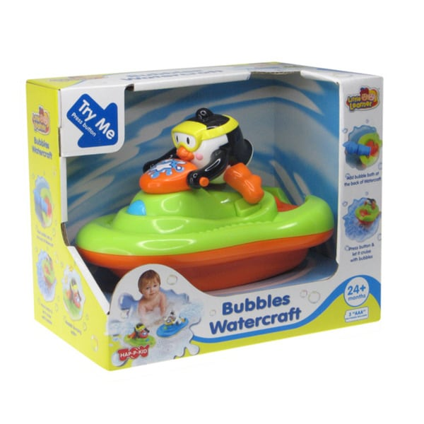 Bubble Penguin Watercraft Bath Toy