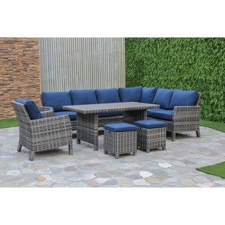 Arcadia Wicker Sectional Set