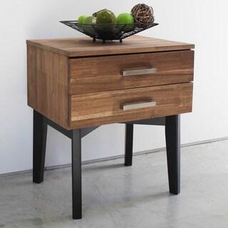 International Caravan Lugano Solid Acacia Hardwood Side Table