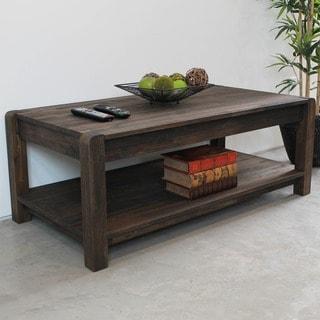 International Caravan Malmo Solid Acacia Hardwood Coffee Table