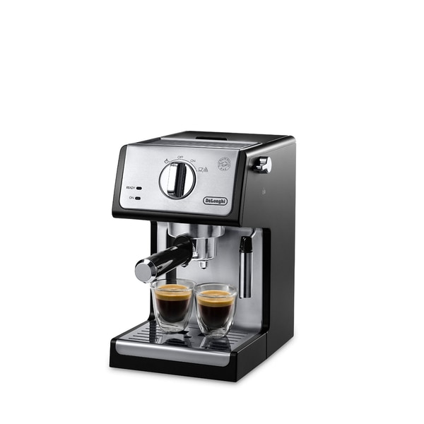 De'Longhi ECP3420 Black 15 Bar Pump Espresso and Cappuccino Machine