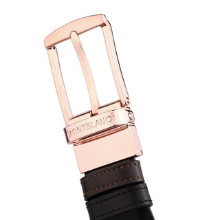 Mont Blanc Classic Line Reversible Men's Leather Belt