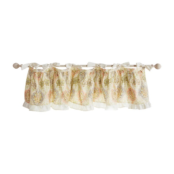 Trend Lab Waverly Rosewater Glam Window Valance