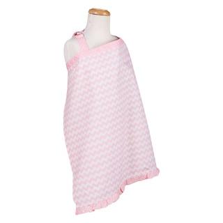 Trend Lab Pink Sky Chevron Nursing Cover