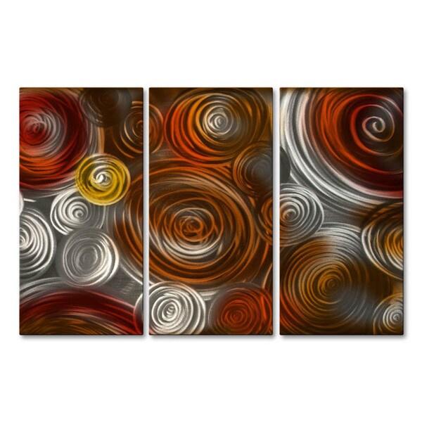 'Cosmic Cluster IV' Ash Carl Metal Wall Art 16855661