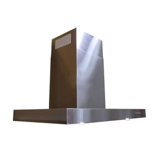 Contemporary 'Z' 24-inch Wall Mount Wall Mount Range Hood
