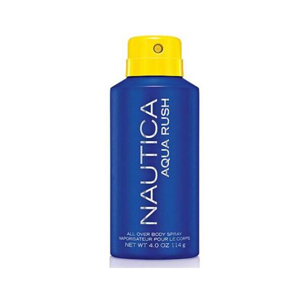 Nautica Aqua Rush Men's 4-ounce Body Spray