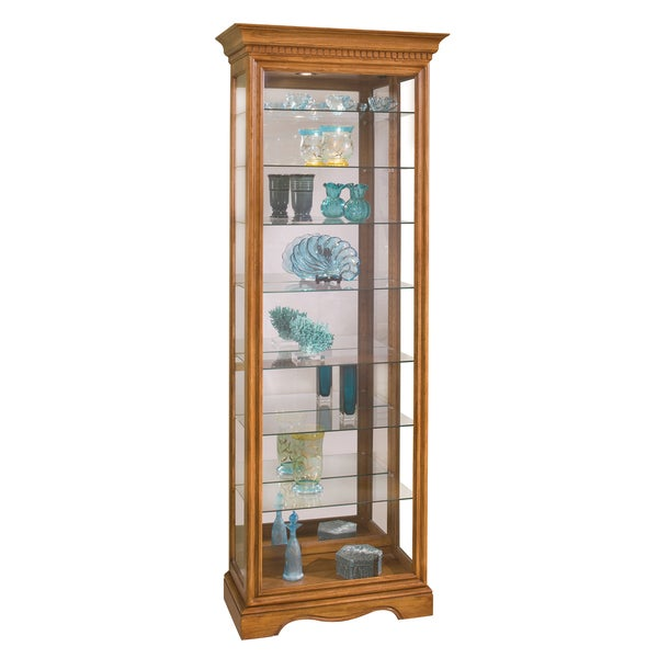 Philip Reinisch Co. Lighthouse Octave Eight-shelf Curio Cabinet