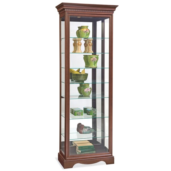 Philip Reinisch Co. Lighthouse Octave III Eight-shelf Curio Cabinet