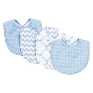 Trend Lab Blue Sky 4 Pack Bib Set