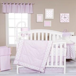 Trend Lab Orchid Bloom 3-piece Crib Bedding Set