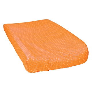 Trend Lab Orange Dot Changing Pad Cover