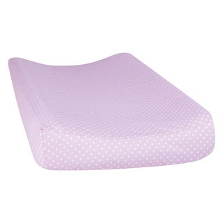 Trend Lab Orchid Bloom Dot Changing Pad Cover