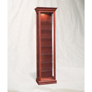 Philip Reinisch Co. Color Time Harmony Display Cabinet, Chili Pepper Red