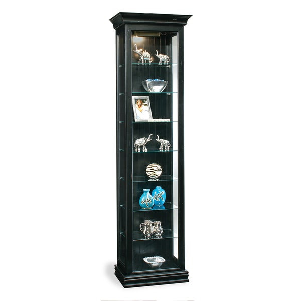 Philip Reinisch Co. Color Time Harmony Display Cabinet, Pirate Black