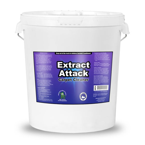 Extract Attack Organic Carpet Cleaning Solution