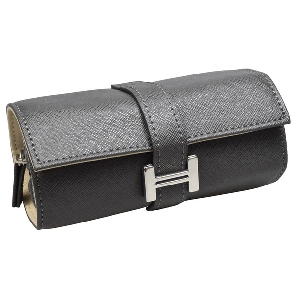 Nile Corp Leatherette Jewelry Roll