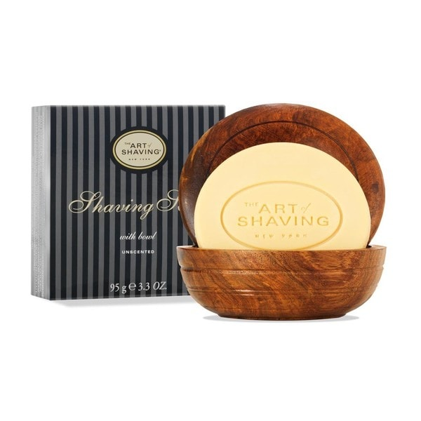 The Art of Shaving Unscented Shaving Soap with Bowl