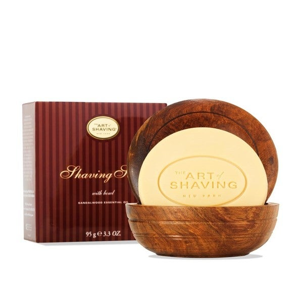 The Art of Shaving Sandalwood Shaving Soap with Bowl