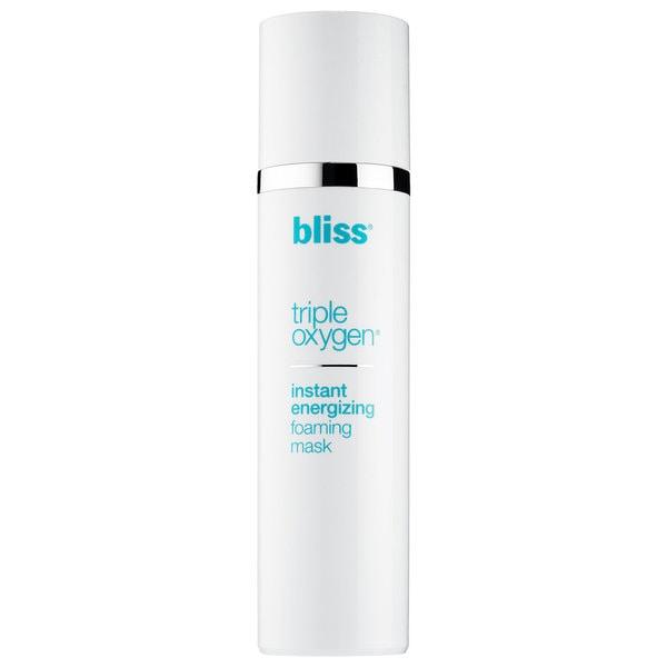 Bliss Triple Oxygen Instant Energizing 3.4-ounce Foaming Mask