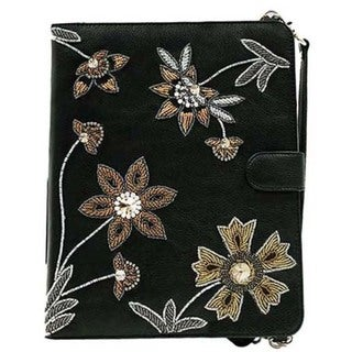 Night Garden Wallet Style Tablet Case for 10-inch Tablets