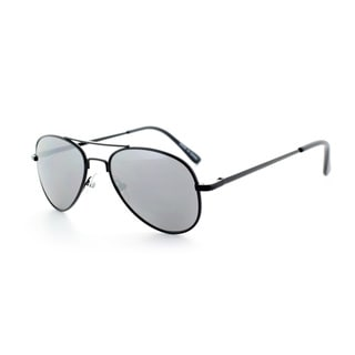 Epic Eyewear Jr. Classic Sport Frame Aviator Reflective Mirrored Lens Sunglasses