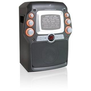 GPX JM332 CD+G Karaoke System with 5-inch Monitor (Refurbished)