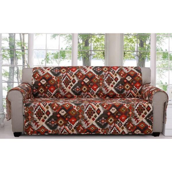 Folk Festival Rustic Sofa Protector