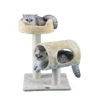Go Pet Club 27-inch High Cat Tree Furniture