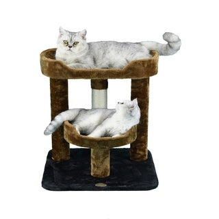 Go Pet Club 23-inch High Cat Tree Furniture