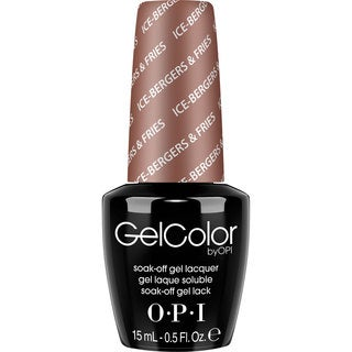 OPI GelColor Ice Bergers and Fries