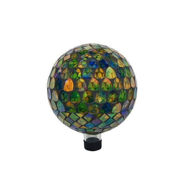 Benzara 10-inch Multi-color Gazing Globe