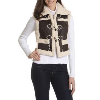 Ashley Women's Faux Shearling Vest